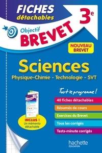 Physique-Chimie Technologie SVT 3e- Fiches - Sébastien Dessaint |