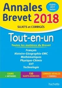 Sébastien Dessaint et Malorie Gorillot - Tout-en-un Brevet 3e - Sujets et corrigés.