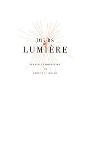 Sébastien Doubinsky - Jours de lumière. 1 CD audio