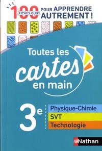 Sébastien Dufros et Marie-Pierre Saulze - Physique-chimie, SVT, technologie 3e - 100 fiches quiz pour apprendre autrement.
