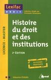 Sébastien Evrard - Histoire du droit et des institutions.