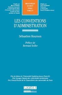 Sébastien Hourson - Les conventions d'administration.