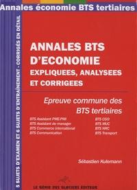 Ucareoutplacement.be Annales économie - BTS tertiaire Image