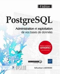 Sébastien Lardière - PostgreSQL - Administration et exploitation de vos bases de données.