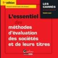 Sébastien Layani - L'essentiel des méthodes d'évaluation des sociétés et de leurs titres.