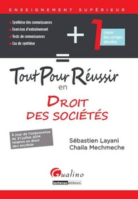 Tout pour réussir en droit des sociétés - Sébastien Layani | Showmesound.org