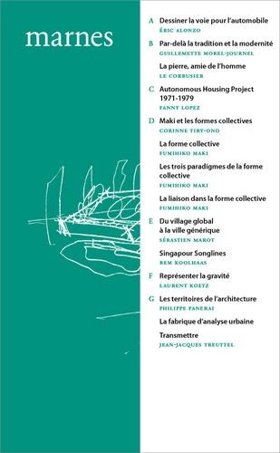 Marnes, documents d'architecture. Volume 2