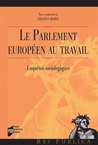 Sébastien Michon - Le Parlement européen au travail - Enquêtes sociologiques.