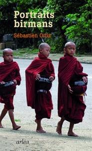 Sébastien Ortiz - Portraits birmans - Dix-Neuf Vues de la Shwedagon.
