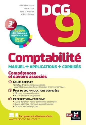Sébastien Paugam et Marie Teste - DCG 9 - Comptabilité - Manuel et applications 12e édition.