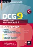 Sébastien Paugam et Alain Burlaud - DCG 9 - Introduction à la comptabilité - Manuel - 10e édition.