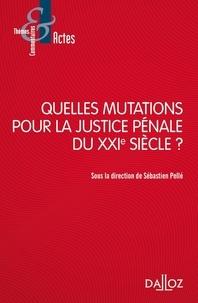 Sébastien Pellé - Quelles mutations pour la justice pénale du XXIe siècle ?.