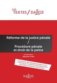 Epub ebooks pour le téléchargement d'ipad Réforme de la justice pénale  - Procédure pénale et droit de la peine 9782247190096 PDB PDF FB2 in French par Sébastien Pellé