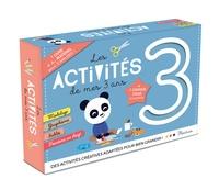 Les activités de mes 3 ans - Contient 1 livre, 4 craies à la cire, 1 emporte-pièce 3, 1 tampon préencré, 1 grande frise à colorier.pdf
