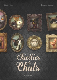 Sébastien Perez et Benjamin Lacombe - Coffret en 2 volumes - Facéties de chats ; Destins de chiens. Avec 2 posters.
