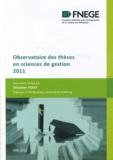 Sébastien Point - Observatoire des thèses en sciences de gestion 2011.