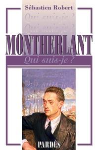 Sébastien Robert - Montherlant.
