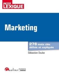 Sébastien Soulez - Marketing - 276 mots clés définis et expliqués.