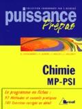 Sébastien Taillemite et Valérie Laurent - Chimie - Classes préparatoires, premier cycle universitaire, MP, PSI.