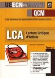 Sébastien Wdowiak - Lecture critique d'article - Tome 2.