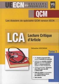 Sébastien Wdowiak - Lecture critique d'articles - Tome 1.