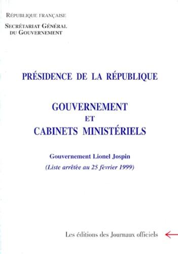 Secrétariat du Gouvernement - .