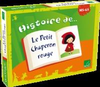 Deedr.fr Le petit chaperon rouge - Mallette comprenant : 2 jeux de 3 albums, 2 jeux de 5 marionnettes à doigts, 1 tapis de contage, maquette du décor, 120 cartes a5, 112 cartes 5 x 5 et un fichier ressources de 144 pages Image