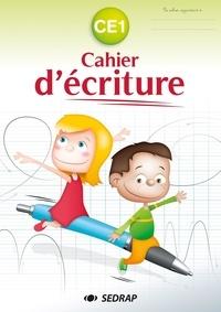 SEDRAP - Cahier d'écriture CE1.