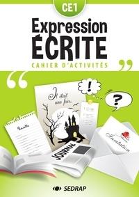 SEDRAP - Cahier d'expression écrite CE1 - Cahier d'activités.