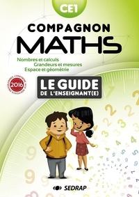 Sedrap Editions - Compagnon Maths CE1 - Guide de l'enseignant (e).