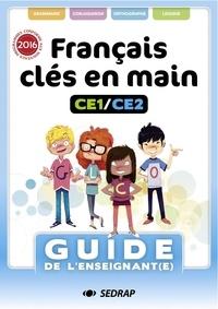 SEDRAP - Francais cles en main ce1 ce2 - guide enseignant - ed.2020.