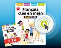 SEDRAP - Francais CM1/CM2 Clés en mains - Lot 10 manuels + interactif.