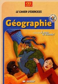 SEDRAP - Géographie A Nous le Monde ! CE2 Lot de 5 Cahiers.