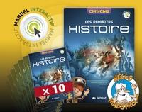 SEDRAP - Histoire, Histoire des arts CM1/CM2 Les Reporters - Lots de 10 manuels.