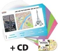 SEDRAP - Les reporters du monde CP - Lot de 22 posters. 1 DVD