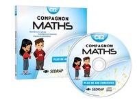 SEDRAP - Mathématiques CE2 Compagnon Maths - Nombres et calculs, grandeurs et mesures, espace et géométrie. Plus de 400 exercices. 1 Cédérom