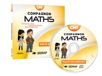 SEDRAP - Maths CM1 - Nombres et calculs - Grandeurs et mesures - Espace et géométrie. 1 Cédérom