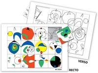 Serge Boëche - Puzzle à la manière de Miro.