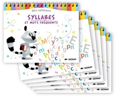 SEDRAP - Syllabes et mots fréquents - Mini syllabaire.