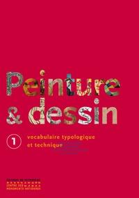 Ségolène Bergeon Langle et Pierre Curie - Peinture & dessin - Vocabulaire typologique et technique, 2 volumes.