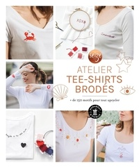 Seize Paris - Atelier tee-shirts brodés - + de 150 motifs pour tout upcycler.