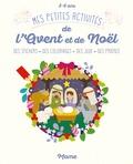Sejung Kim - Mes petites activités de l'Avent et de Noël - Des stickers, des coloriages, des jeux, des prières.