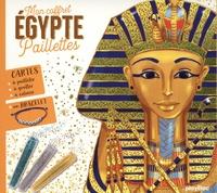 SeL - Egypte - Avec 2 cartes à gratter scintillantes, 3 cartes à pailleter, 5 cartes à colorier, 3 tubes de paillettes, 1 bracelet et 1 stylet double-embout.