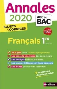Séléna Hébert et Anne Cassou-Noguès - ANNAL ABC BAC C  : EPUB-Annales BAC 2020 - Français 1re COR.