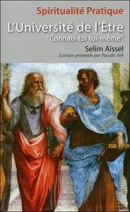 Selim Aïssel - L'Université de l'Etre.