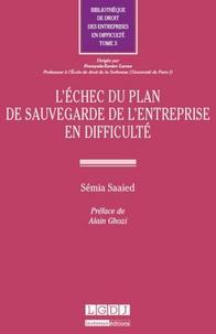 Semia Saaied - L'échec du plan de sauvegarde de l'entreprise en difficulté.