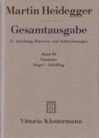 Seminare: Hegel-Schelling.