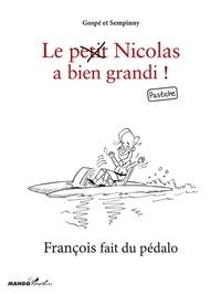 Sempinny et  Gospé - François fait du pédalo - Le petit Nicolas a bien grandi ! Pastiche.