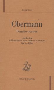Senancour - Obermann - Dernière version.