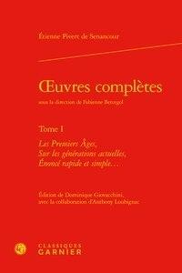Senancour - Oeuvres complètes.